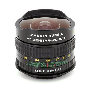 Zenitar 16mm f/2.8 Fisheye Lens