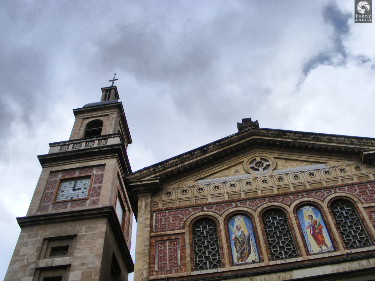 A church on Avinguda del Tibidabo