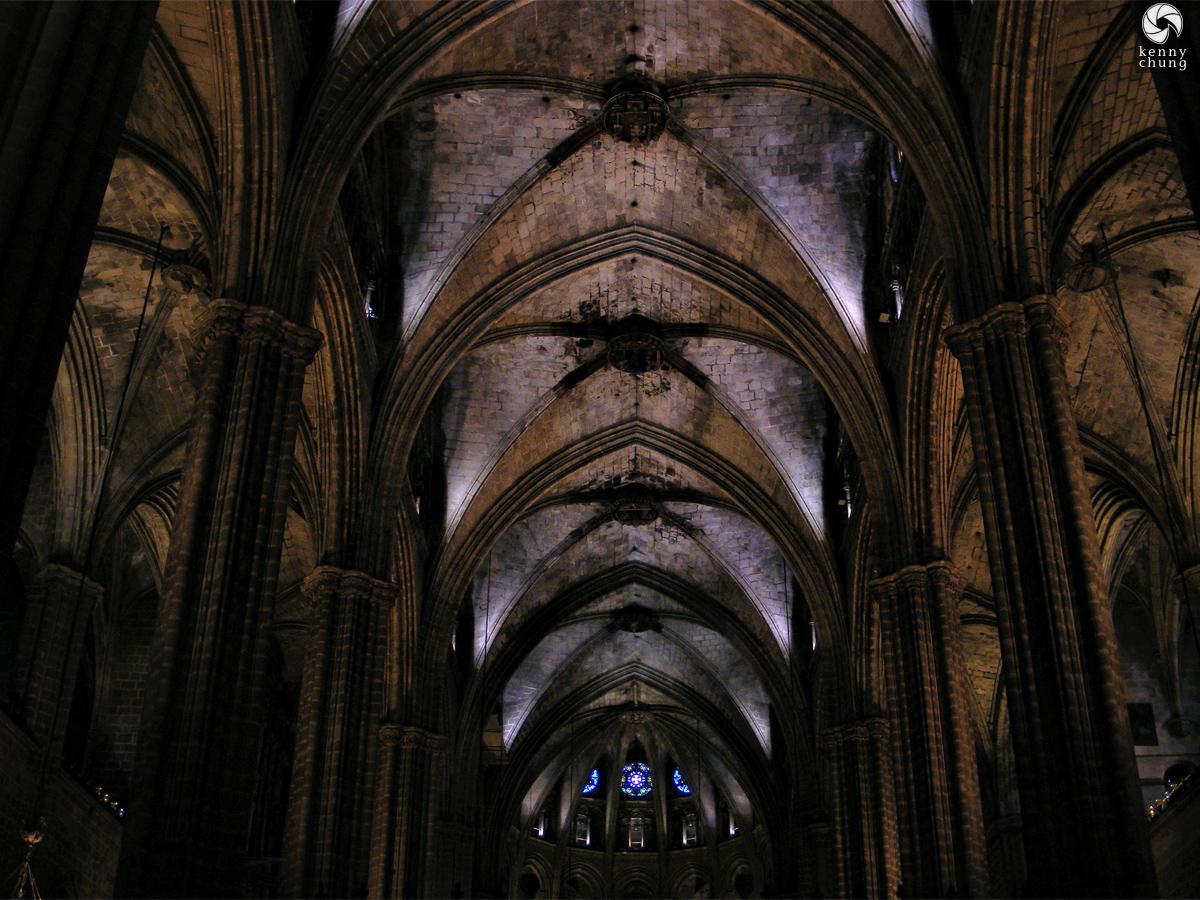 Inside Cathedral of Santa Eulalia