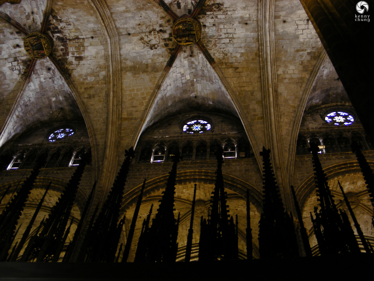 Cathedral Spires at Catedral de Barcelona
