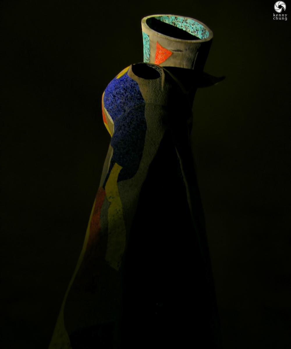 A statue in Parc Joan Miró