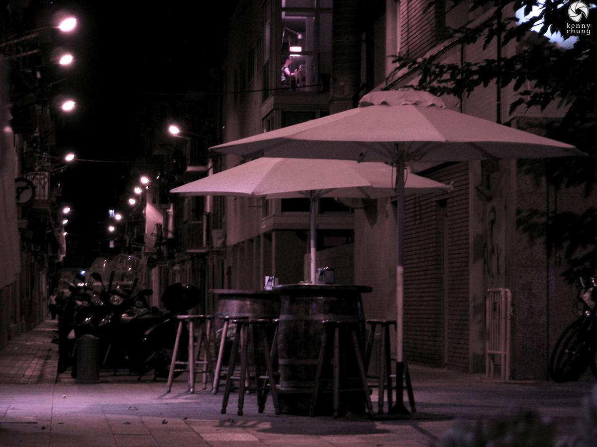 Umbrellas in La Barceloneta