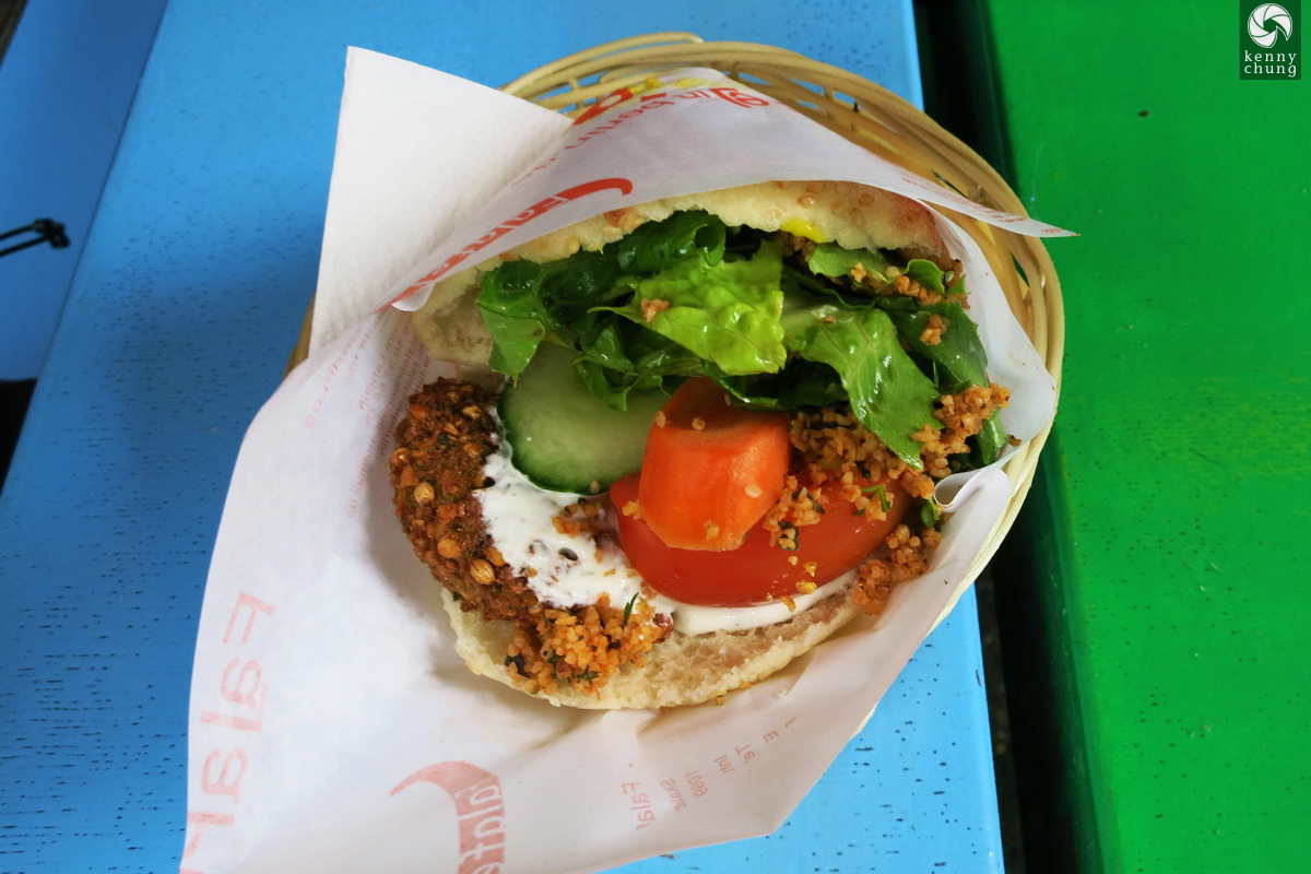 Falafel pita sandwich from Falafelinberlin in Berlin