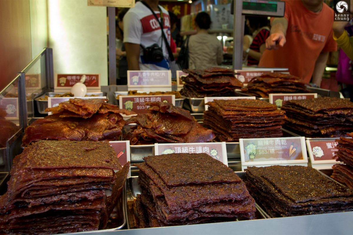 Beef jerky for sale in Macau