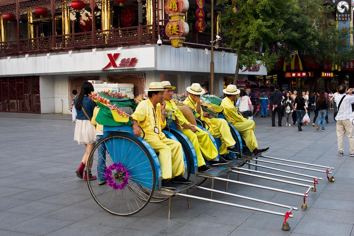Rickshaw operators in Nanjing