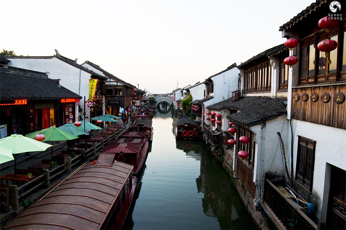 Suzhou Canal in China