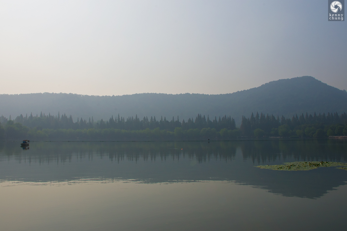 Mountains and forest at West Lake, Hangzhou