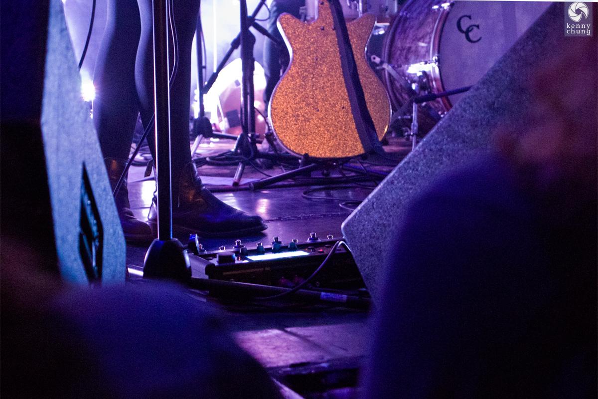 Elena Tonra's guitar multi-effects pedal