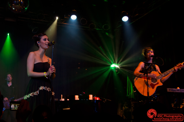 Meg and Dia Frampton at Highline Ballroom