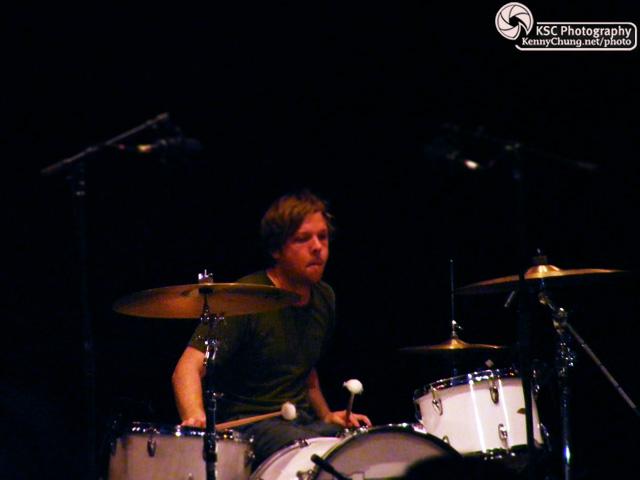 EITS drummer Chris Hrasky