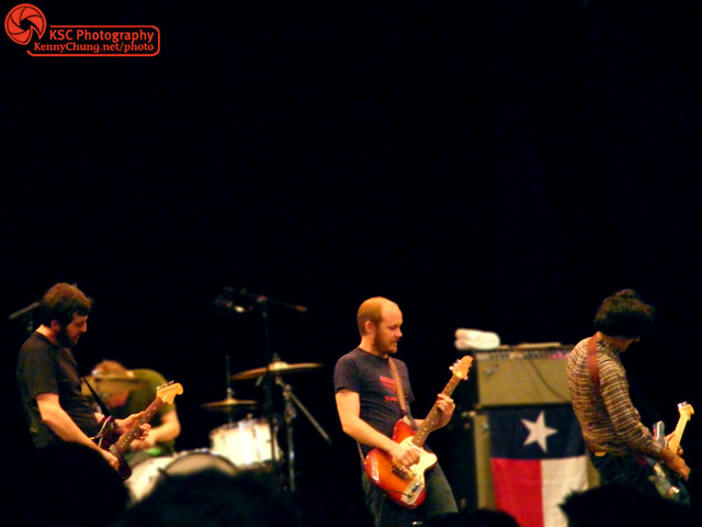 Explosions In The Sky performing in Central Park
