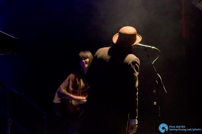 Dylan LeBlanc with Klara Soderberg at Music Hall of Williamsburg