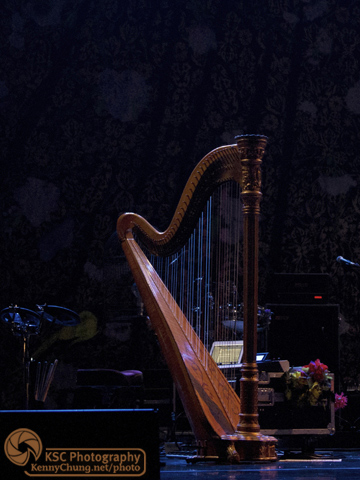Florence + The Machine harp at Central Park Summerstage
