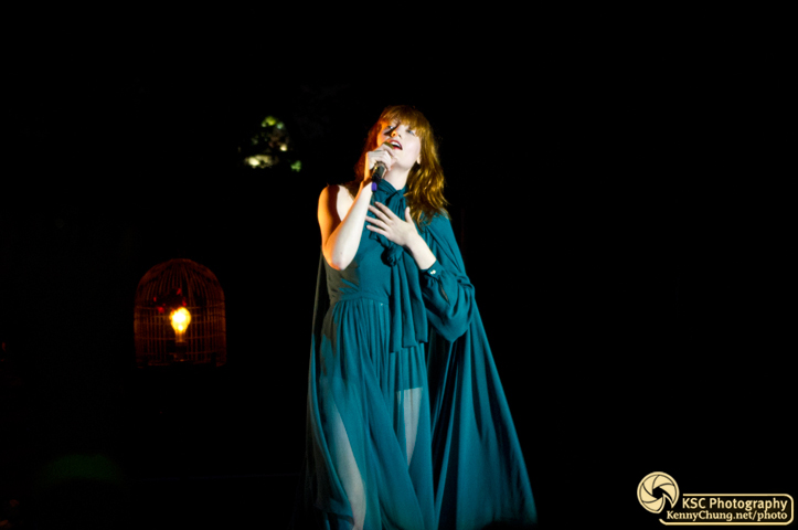 Florence + The Machine performing Rabbit Heart Raise It Up at Central Park Summerstage