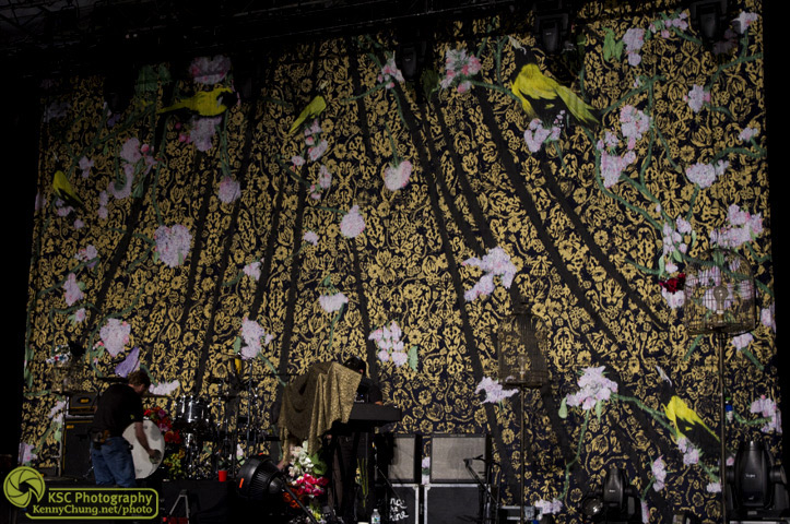 Florence + The Machine Central Park Summerstage background