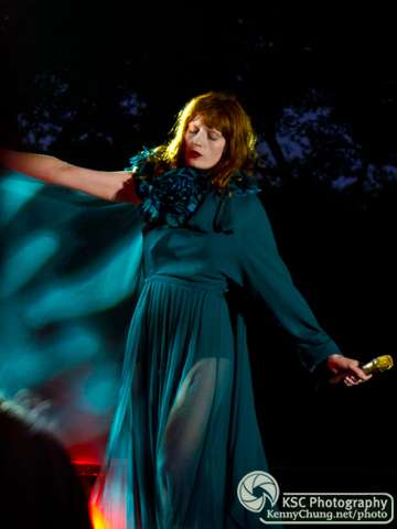 Florence Welch at Central Park Summerstage