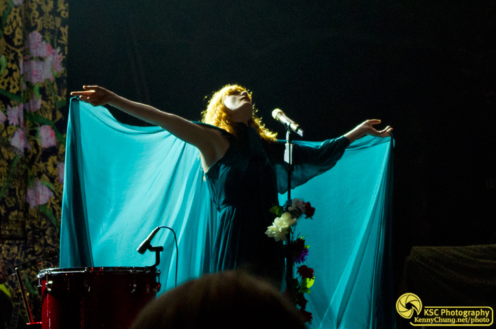 Florence Welch spreading her wings at Central Park Summerstage