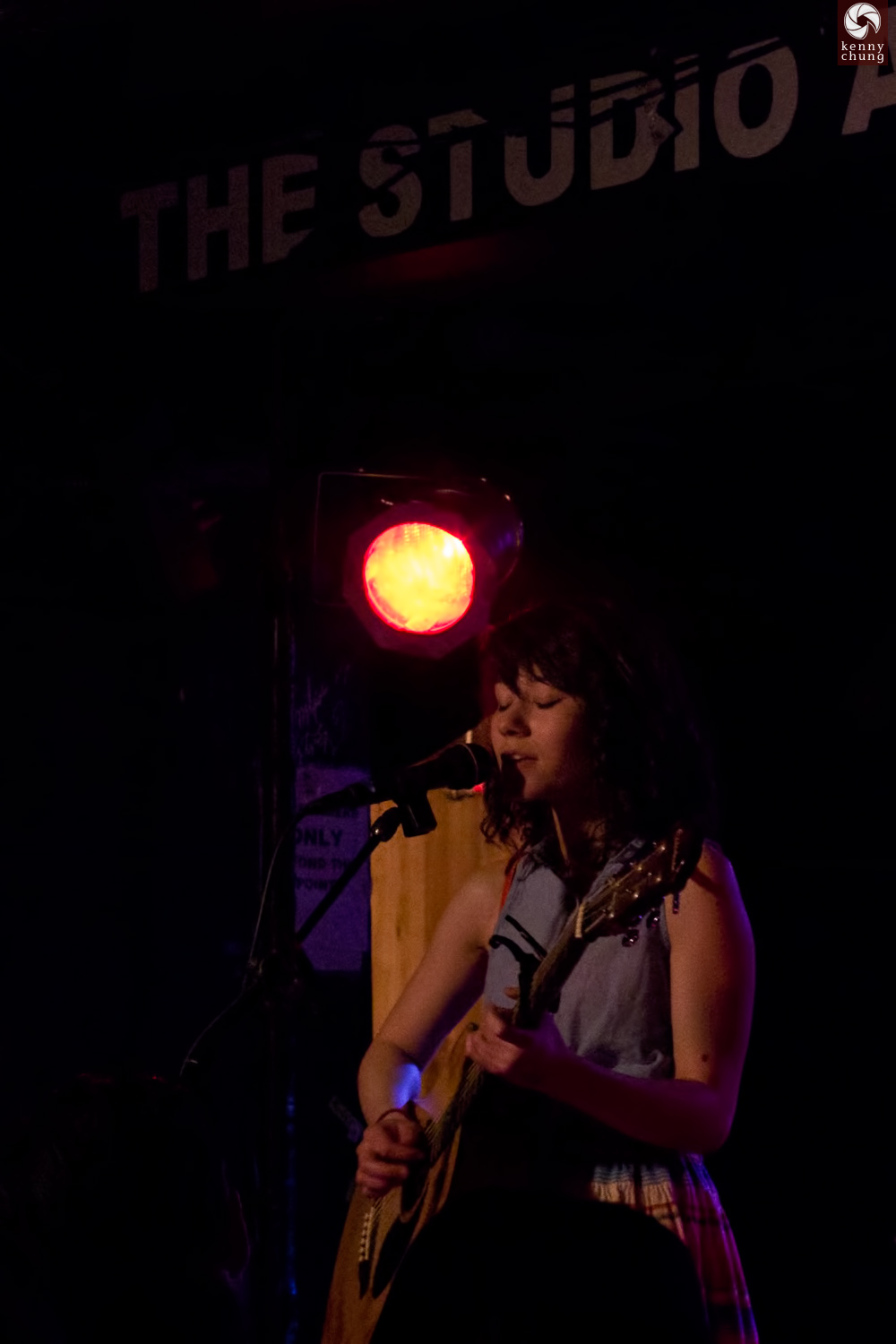 YouTube artist Mree (Marie Hsiao) performing at Webster Hall, NYC
