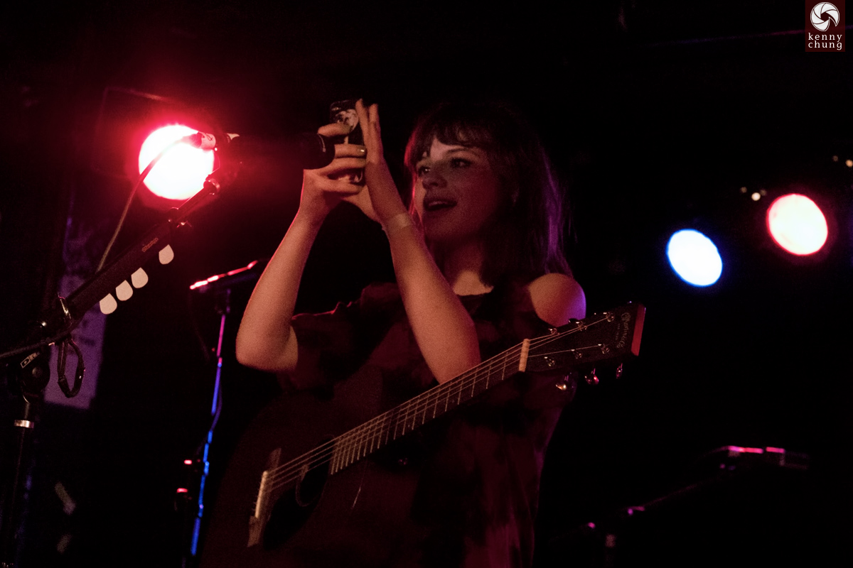 Gabrielle Aplin playing Home and Human at Webster Hall, NYC