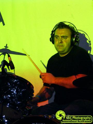 GIAA drummer Lloyd Hanney