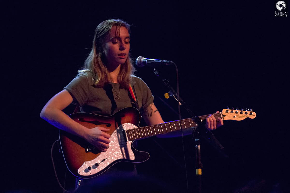 Julien Baker performing at the Music Hall of Williamsburg in Brooklyn, NY