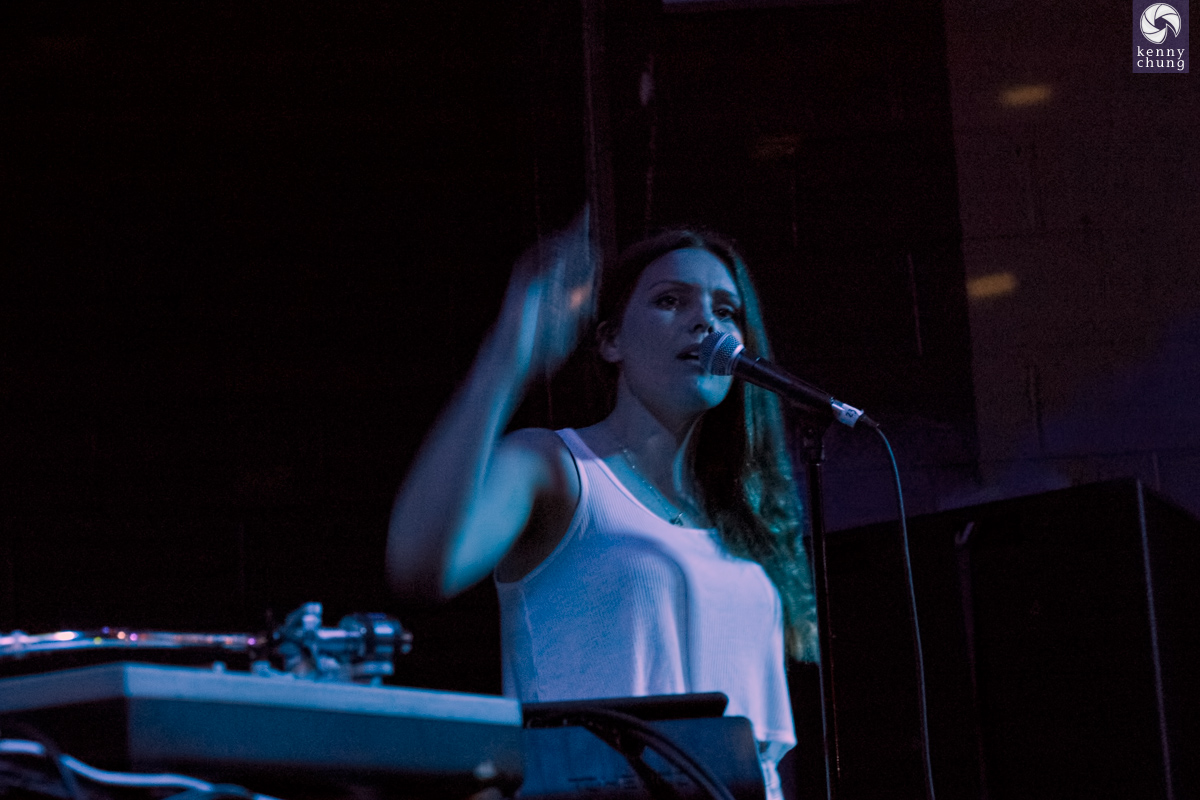 Kelsey Bulkin of MADE IN HEIGHTS at Glasslands, Brooklyn