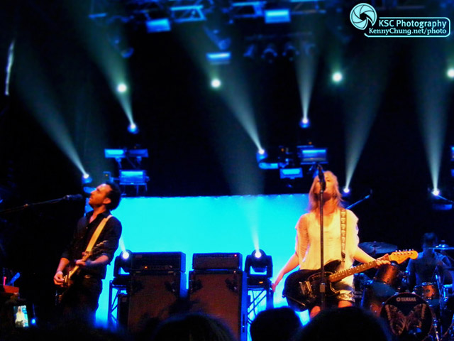 Jimmy Shaw and Emily Haines
