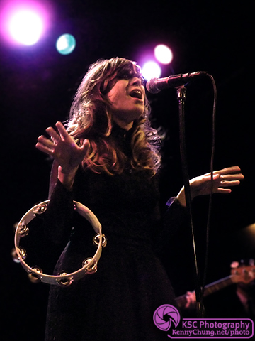Nicole Atkins Singing at the Bowery Ballroom