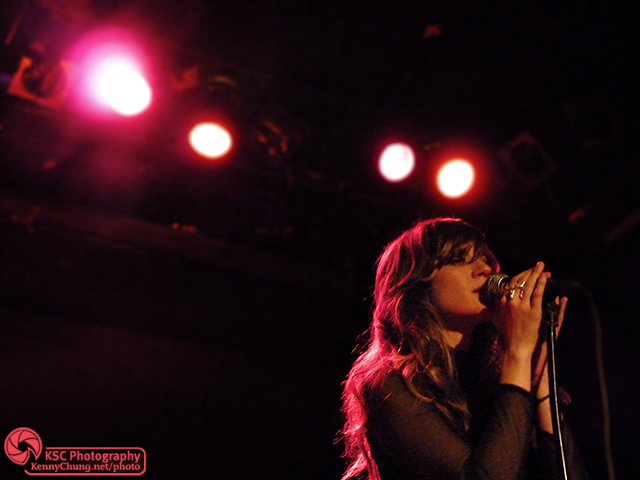 Nicole Atkins singing Vultures at the Bowery Ballroom, NYC