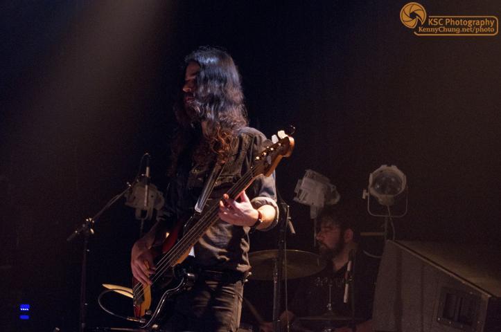Bassist Jeremy Kay and drummer Ezra Oklan