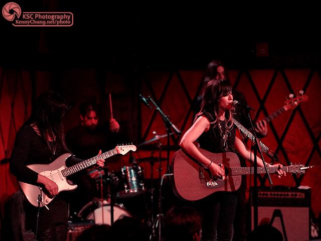 Nicole Atkins and The Black Sea at Rockwood Music Hall, NYC