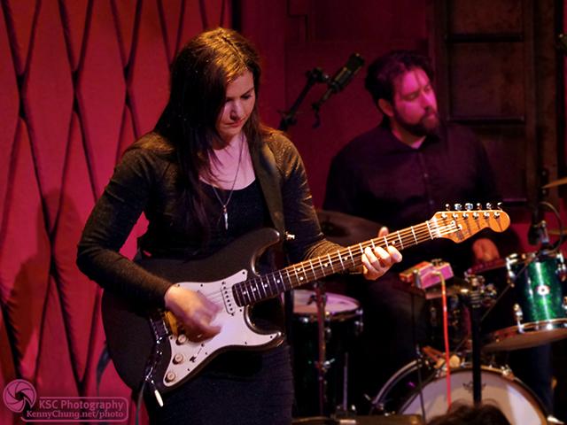 Guitarist Irina Yalkowsky Drummer Ezra Oklan