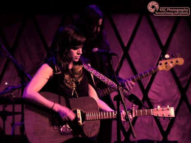Nicole Atkins and bassist Jeremy Kay at Rockwood Music Hall