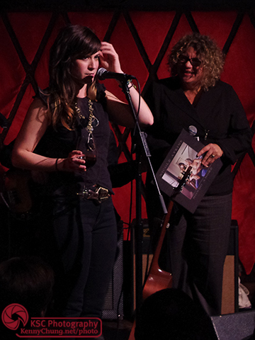 Nicole Atkins interviewed by WFUV radio host Rita Houston