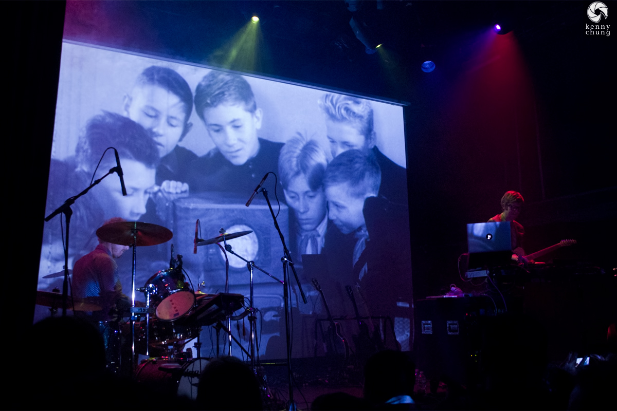 Public Service Broadcasting playing Sputnik at Bowery Ballroom
