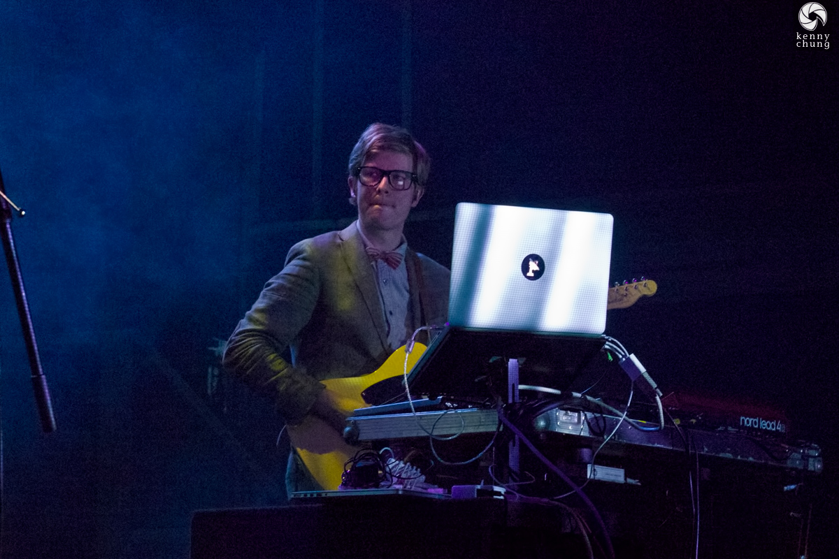 J. Willgoose Esq. of Public Service Broadcasting at Bowery Ballroom