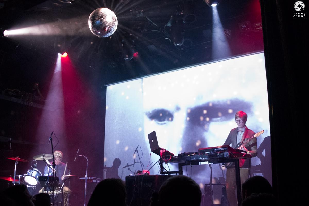 Public Service Broadcasting performing Gagarin at Bowery Ballroom