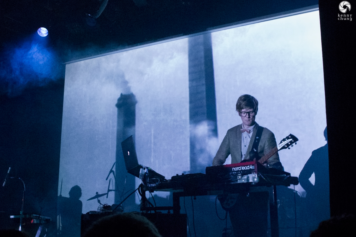 Public Service Broadcasting playing Nightmall at Bowery Ballroom