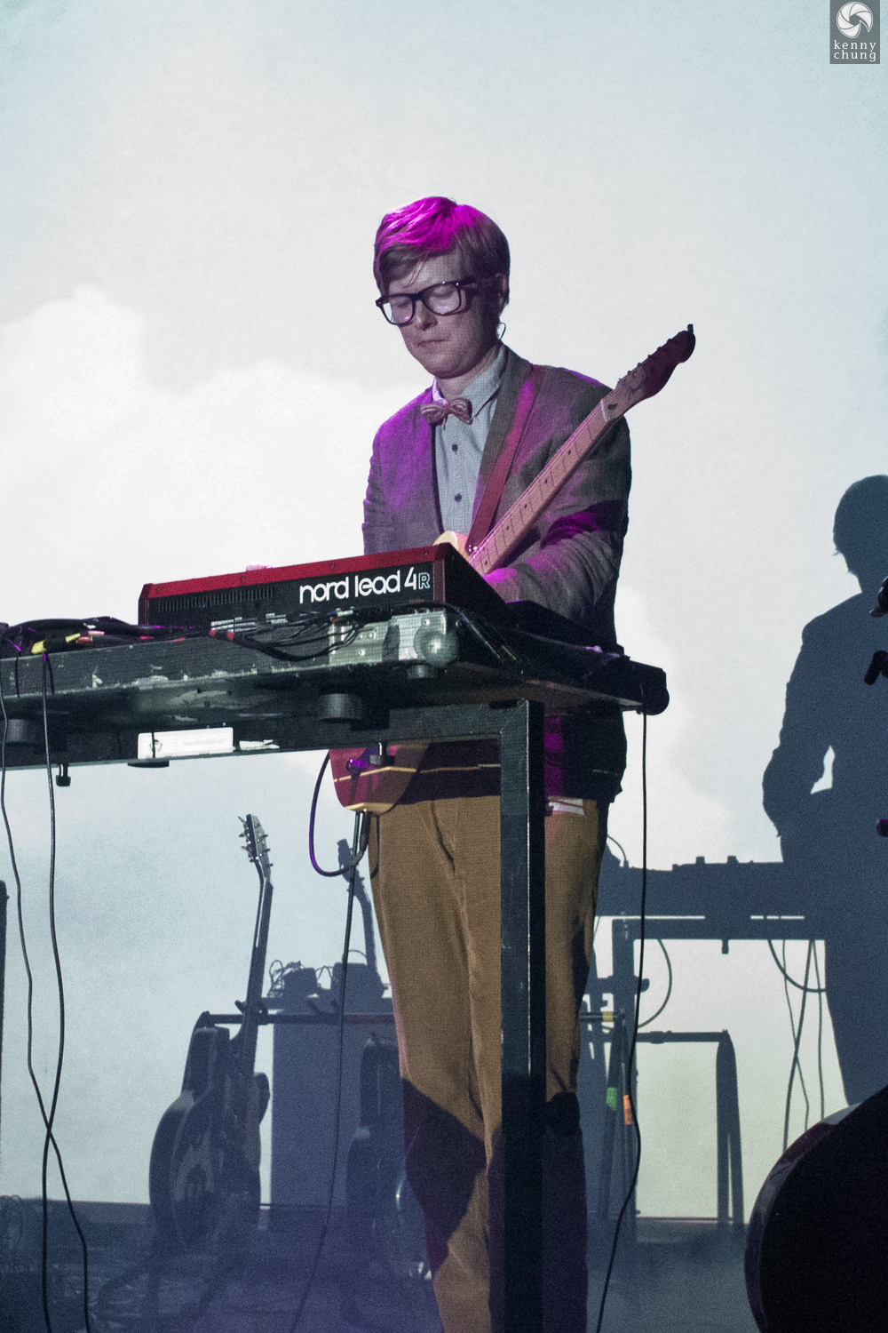 J. Willgoose Esq playing his Nord Lead 4R synth