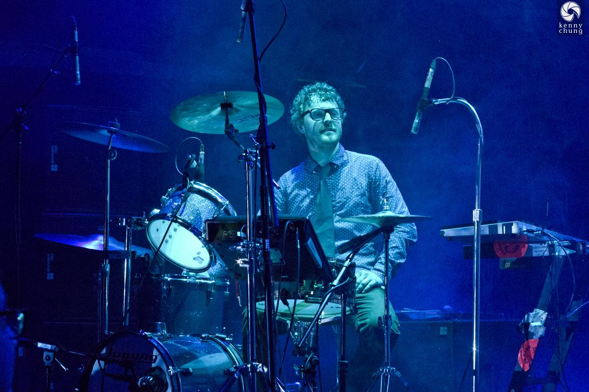 Public Service Broadcasting drummer Wrigglesworth