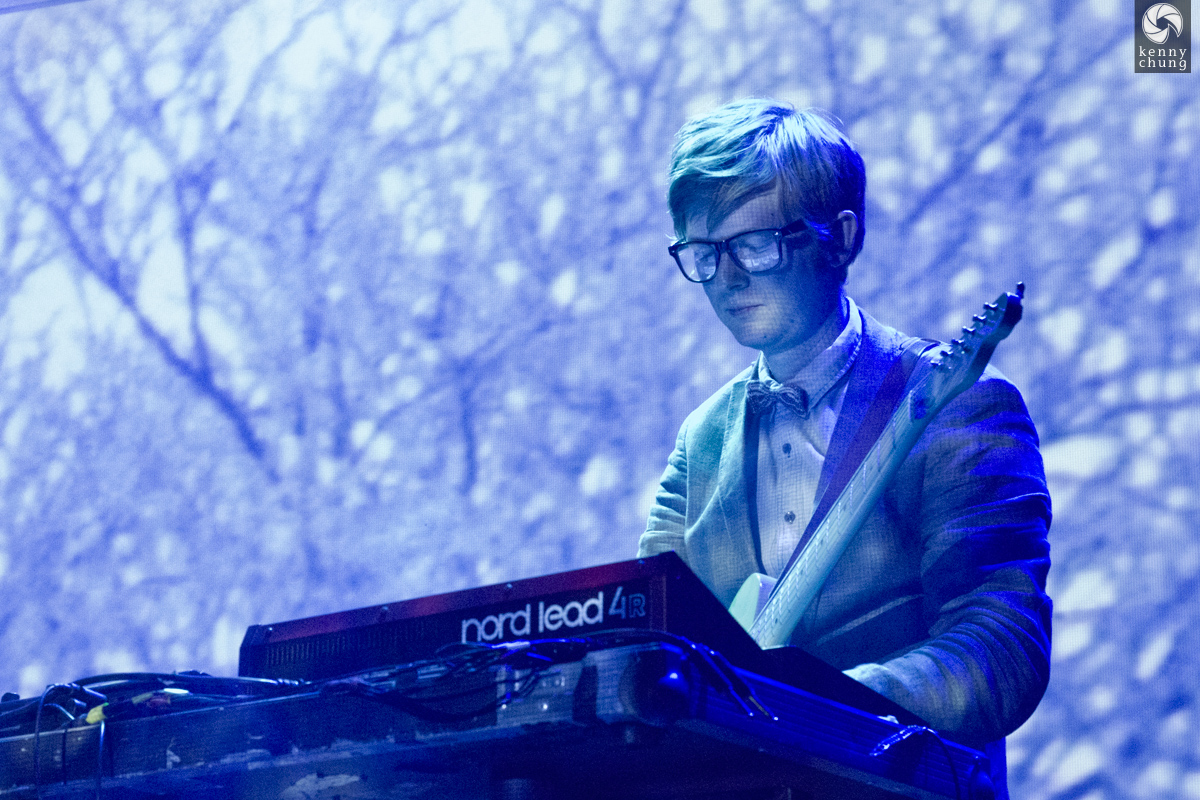 Public Service Broadcasting playing Elfstedentocht, Part 2