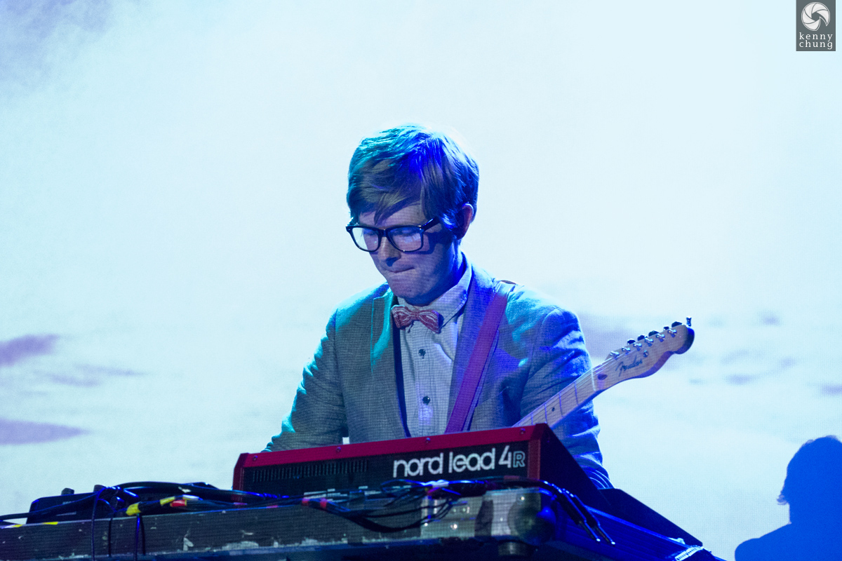 Public Service Broadcasting playing Elfstedentocht, Part 2 at Bowery Ballroom