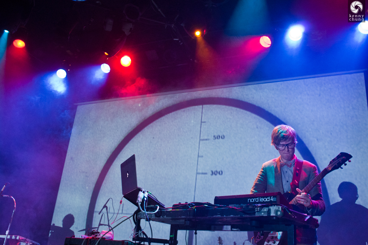 Public Service Broadcasting playing Spitfire at Bowery Ballroom