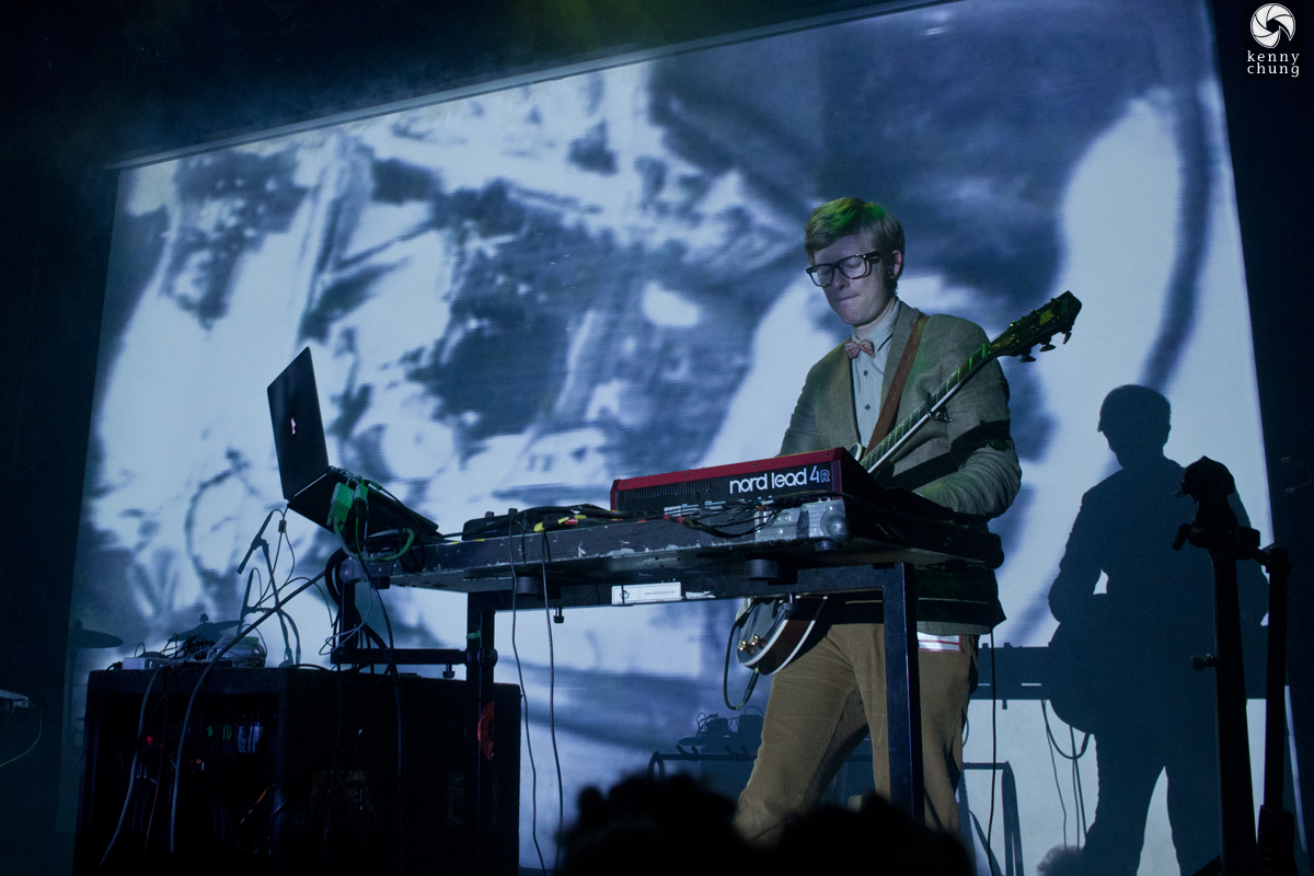 Public Service Broadcasting playing The Other Side at Bowery Ballroom