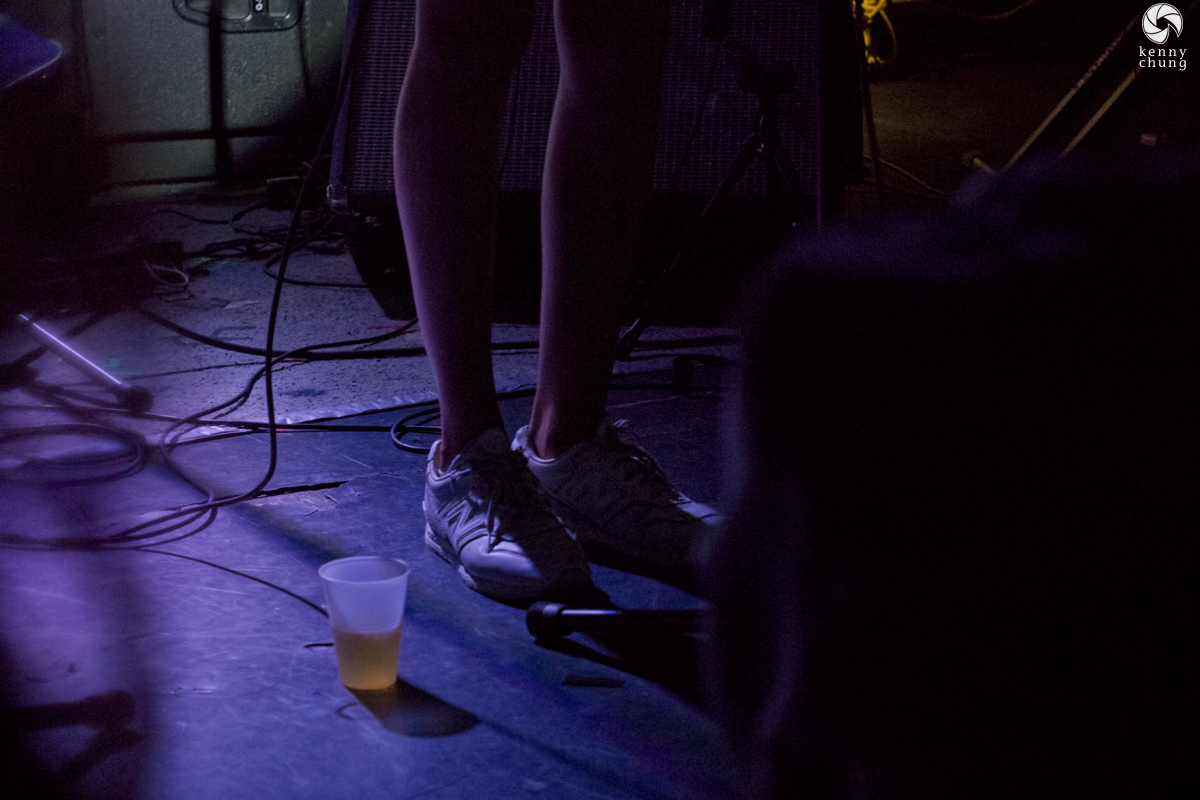 Okay-Kaya's shoes at Mercury Lounge