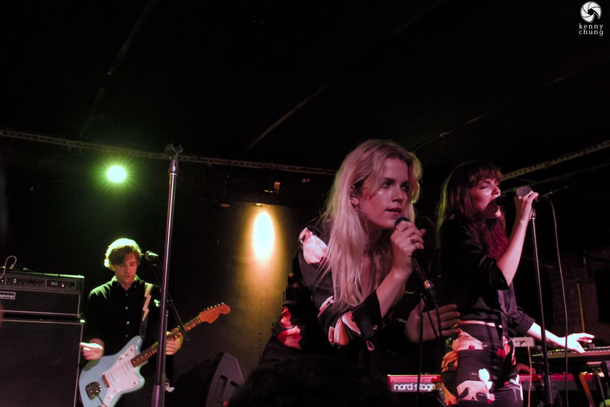 Say Lou Lou performing at Mercury Lounge