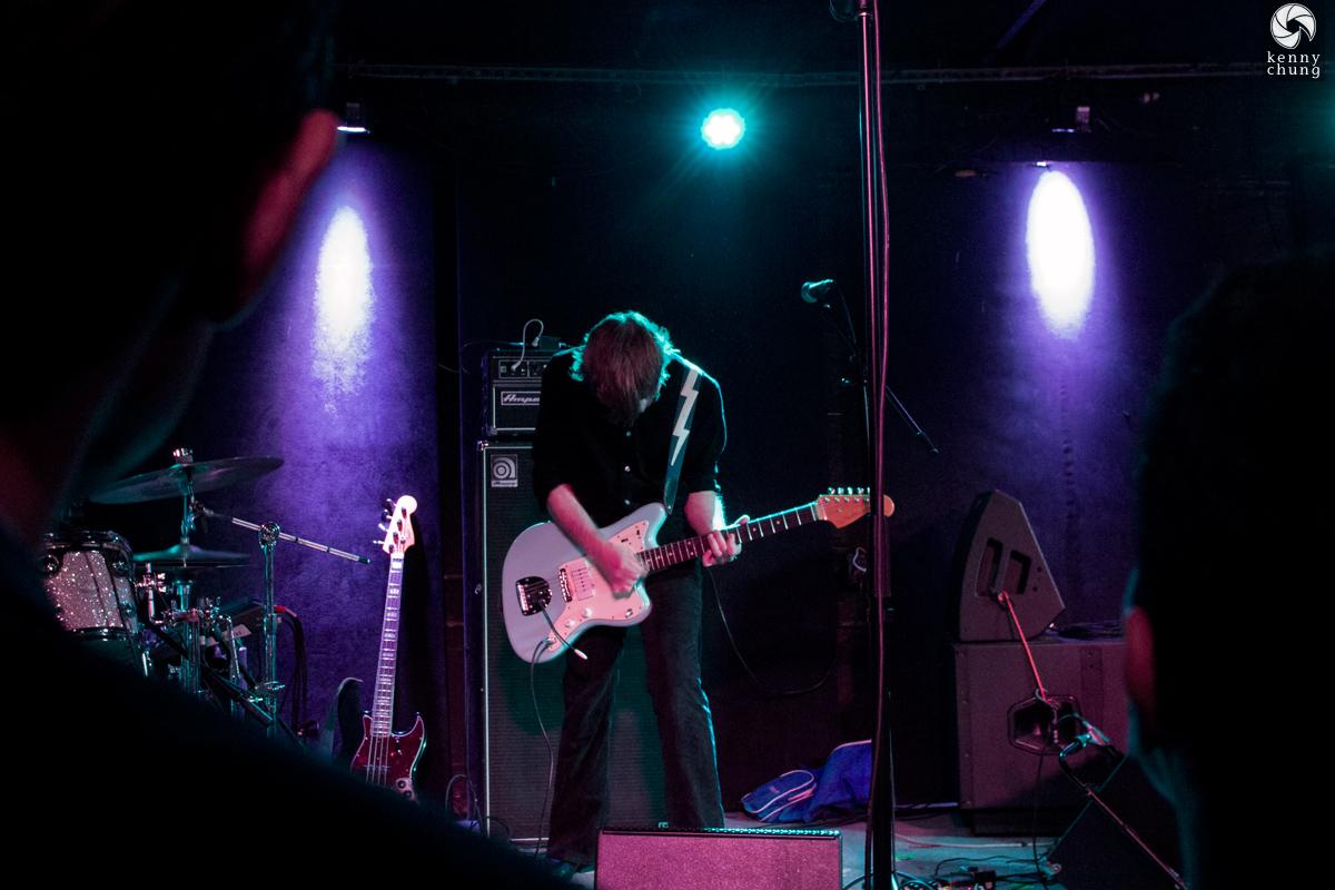 Say Lou Lou's guitarist at Mercury Lounge