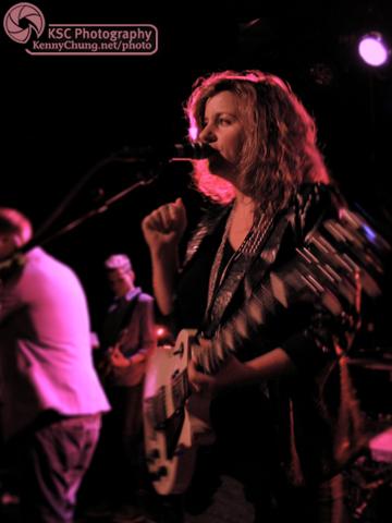 Stars singer/guitarist Amy Millan at Littlefield, Brooklyn