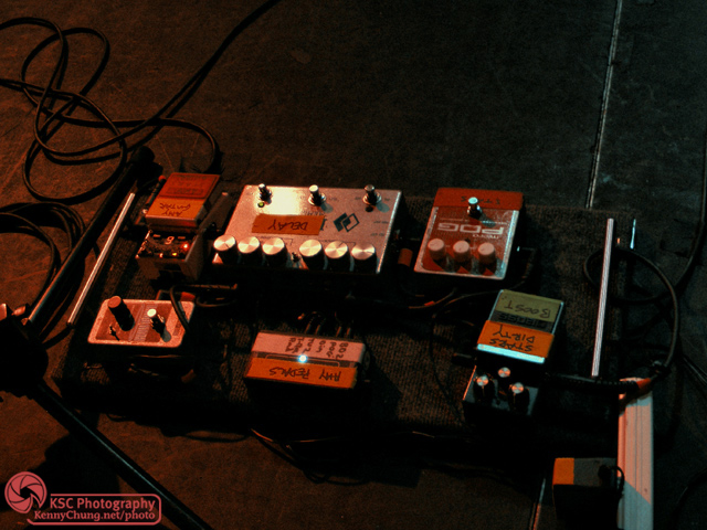 Amy Millan Guitar Effect Pedals