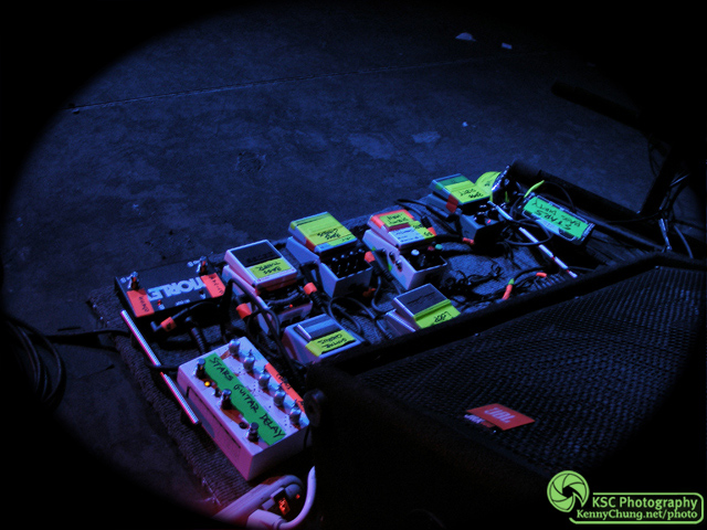 Stars Evan Cranley Pedal Board